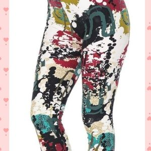 Pants - Graffiti leggings